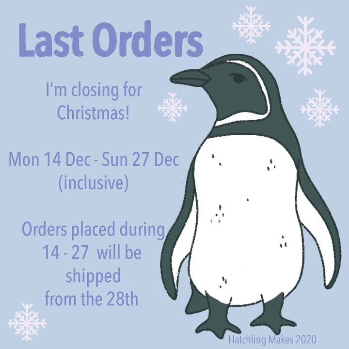Last Orders for Christmas!
