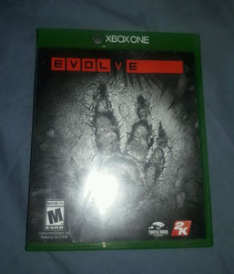 evolve xbox one replacement case and manual only vincents gaming rh vincentsgaming com Replacement Video Game Manuals Life Manual of the Game