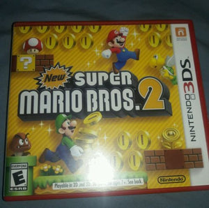 new super mario bros 2 3ds replacement case and manual only rh vincentsgaming com Game Manual PDF Life Manual of the Game