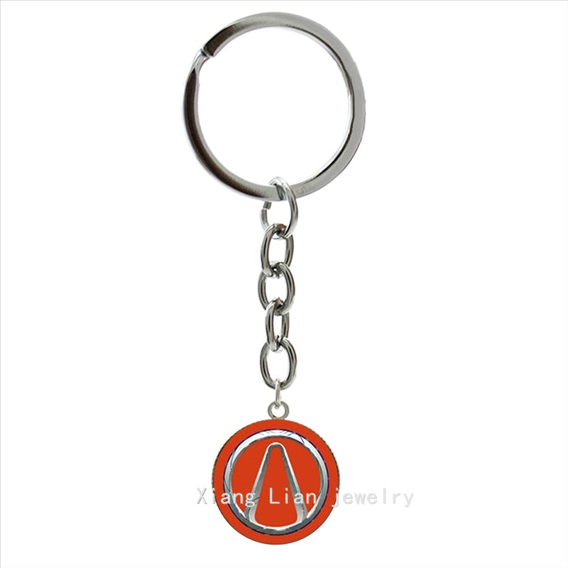 Borderlands Vault Symbol Keychain Vincents Gaming