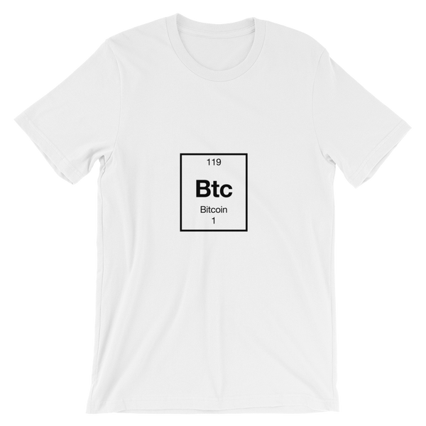 Bitcoin element t-shirt