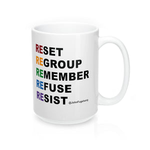 Resist With Pride Mug - 15 oz