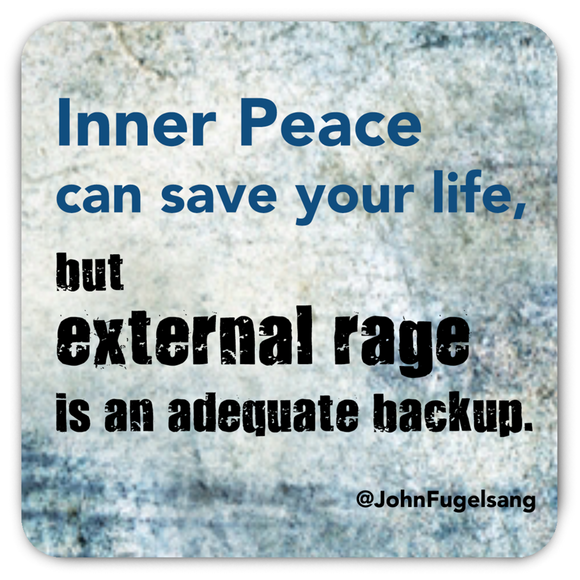 Inner Peace Magnet (Bendable)