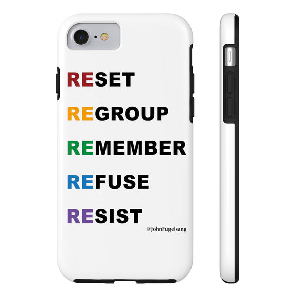 Resist Phone Case for iPhone 5/6/7/8
