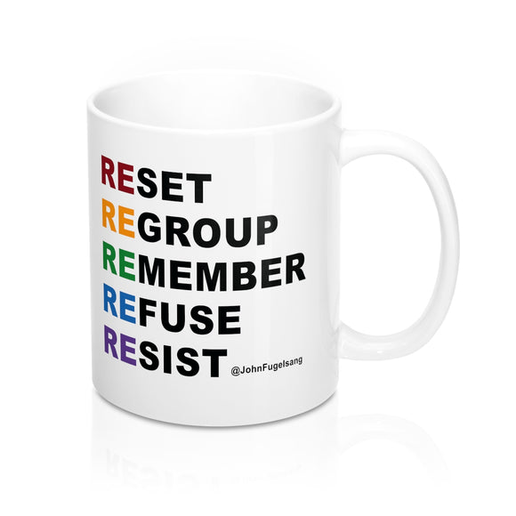 Resist with Pride Mug
