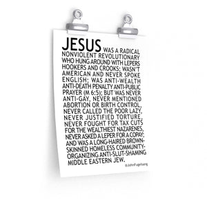 Jesus Poster - Multiple Sizes