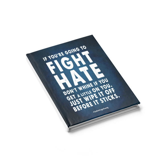 Fight Hate Notebook