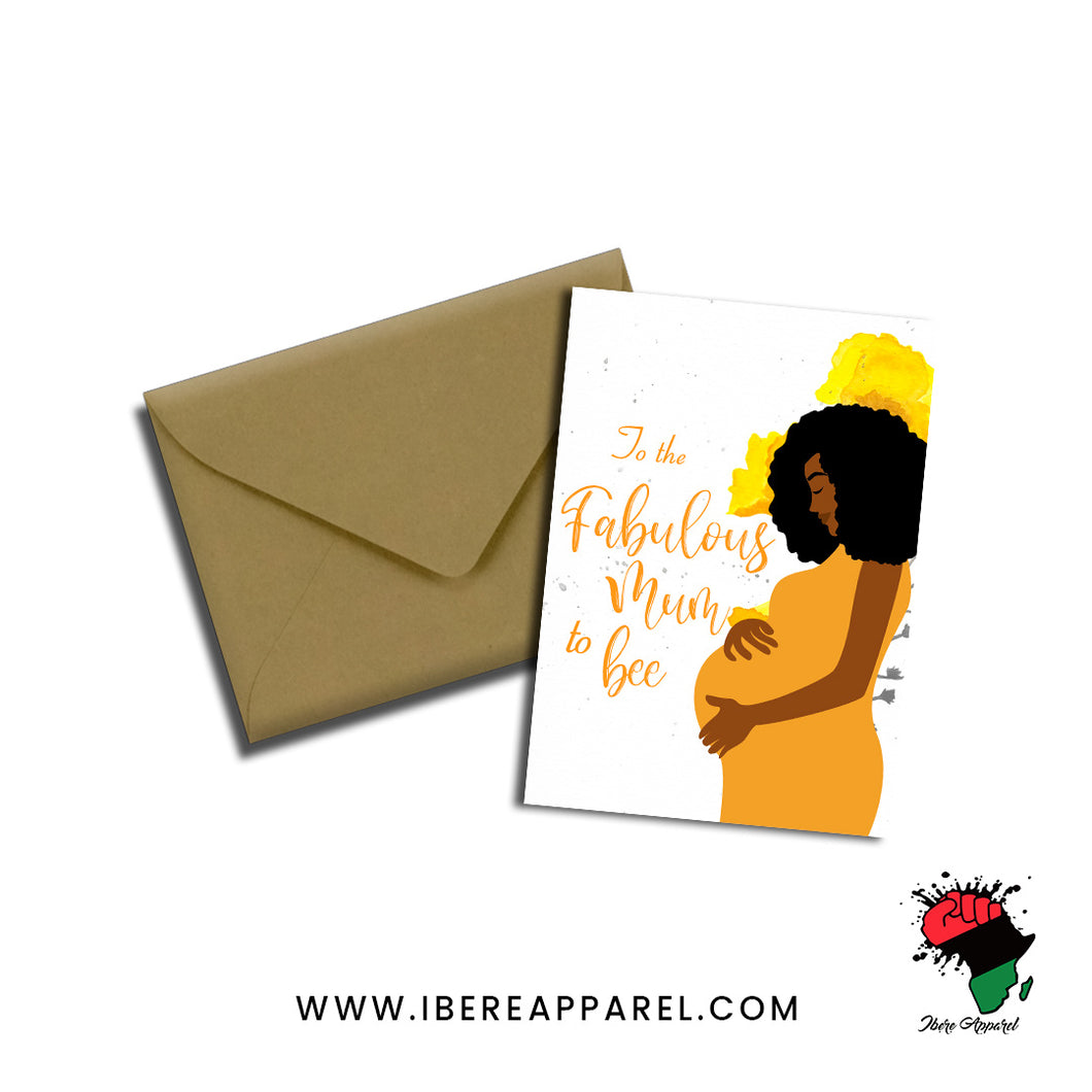 SHAYO | TO THE FABULOUS MUM TO BEE | Greeting Card