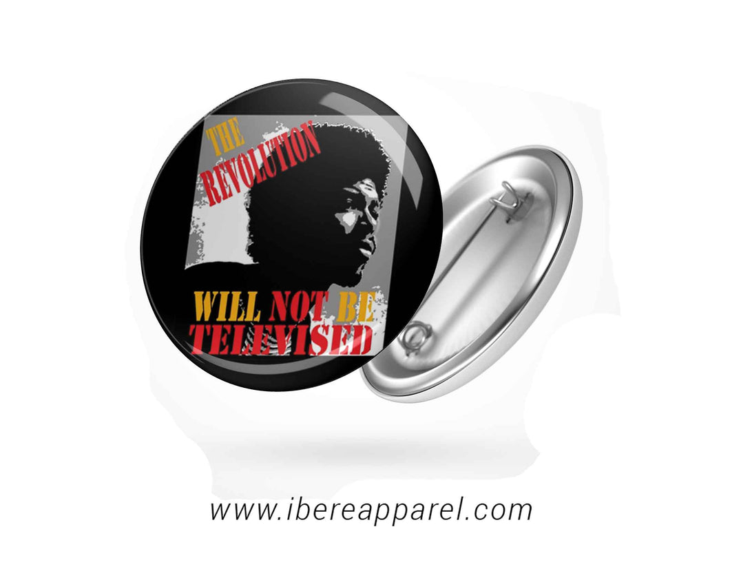 The Revolution Button badges - Ibere Apparel
