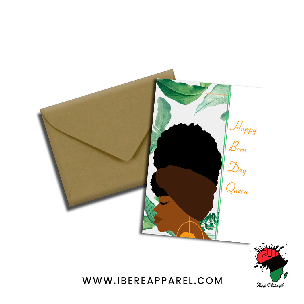 BRENDA | HAPPY BORN DAY |  Greeting Card