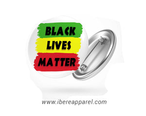 BLACK LIVE MATTER |  Button badge