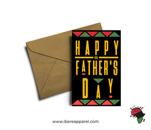 HAPPY FATHER'S DAY |  Greeting Card
