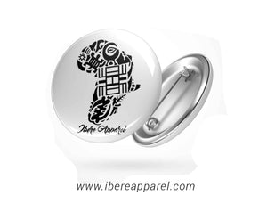 Adrinka Africa-Button badges - Ibere Apparel