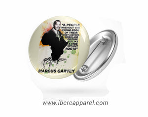 Marcus Garvey Button badges - Ibere Apparel