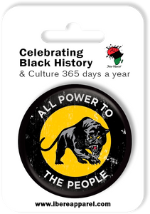 ALL POWER TO THE PEOPLE  | 38MM Button Badge