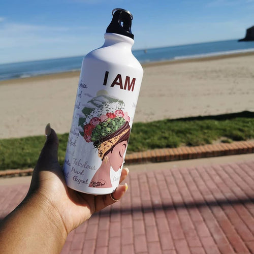 I AM - WATER BOTTLE - Ibere Apparel