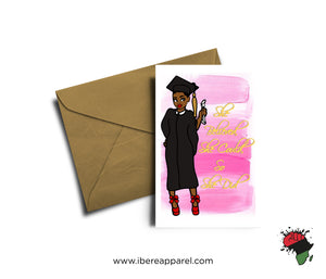 LOLA | CONGRATULATIONS | Graduation Card - Greeting Card