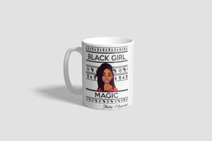 NATASHA - BLACK GIRL MAGIC- Printed Ceramic Mug