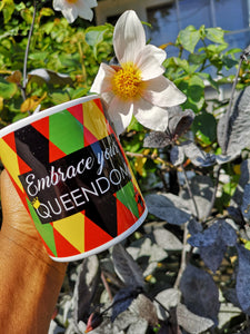 Embrace Your Queendom - Printed Ceramic Mug - Ibere Apparel