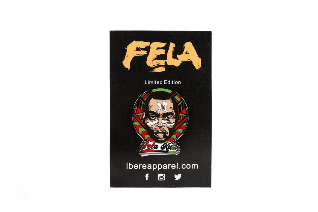 Limited Edition  - FELA KUTI Pin - Ibere Apparel