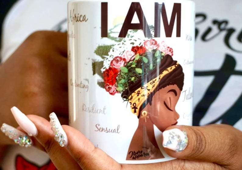 I Am Printed - Ceramic Mug - Ibere Apparel