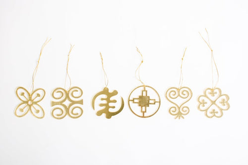Adinkra Symbol Ornaments - Ibere Apparel