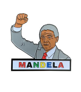 Nelson Mandela Lapel Pin - Ibere Apparel
