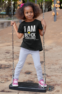 I AM BLACK EXCELLENCE - KIDS TSHIRT