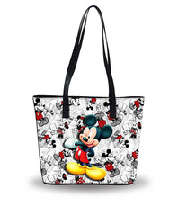 Load image into Gallery viewer, New Disney Women's Pu Leather Shoulder Handbags Waterproof Bags Bucket Purse