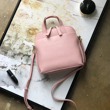 Load image into Gallery viewer, Women designer soft leather handbag Luxury texture shell cowhide single shoulder versatile