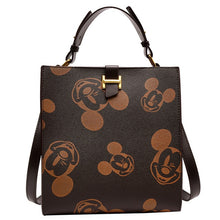 Load image into Gallery viewer, New Disney Women Bag Leather Backpack Mickey Mouse Handbag Tote Messenger Purse