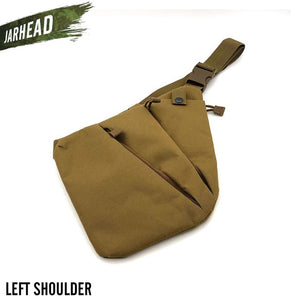 Nylon Tactical Pistol Gun Bag Sports Concealed Case Holster Anti-theft Hunting