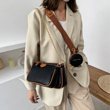 Load image into Gallery viewer, 3 in 1 Leather Chain Bag Women Designer Handbags Shoulder Crossbody Purse