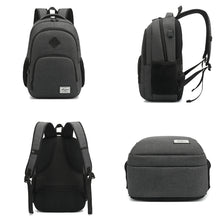 "Load image into Gallery viewer, 15.6"" Laptop Backpack Water Resistant School Travel Bag Oxford Bookbag Unisex"