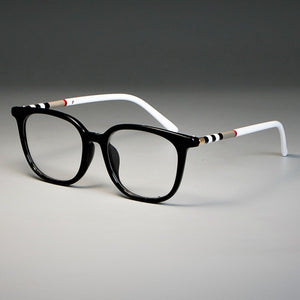 Cat Eye Luxury Glasses alloy Frames Unisex UV400 solid designer casual Optical Fashion