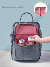 Load image into Gallery viewer, Waterproof Diaper Backpack Large Bags Shoulder Maternity Travel Handbag Women's