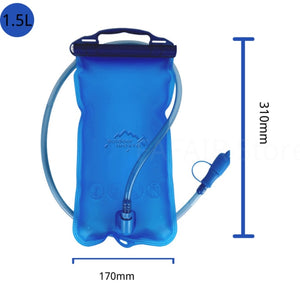 2L Sport TPU Water Hydration Bag Outdoor Cycling Running Backpack Bladder