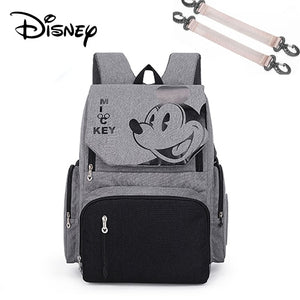 Disney Baby Diaper Bags USB waterproof Maternity Nappy Stroller Bag Large  Backpack
