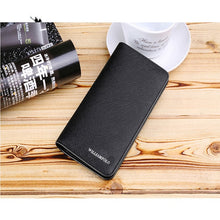 Load image into Gallery viewer, Men's Wallet Genuine Leather Bifold Short Credit Card Holder Ultra Slim Multi Purse