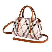 Load image into Gallery viewer, Women's Nylon handbags Designer Striped shoulder bags Messenger Fashion PVC