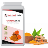 Ashwagandha Capsules 1000 mg - Ecologically Grown Ashwagandha - 120 Vegetarian capsules - nutritechlabs