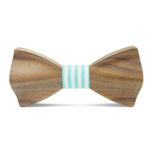 Curled Up Wood Bow Ties - Driftly,  - Driftly
