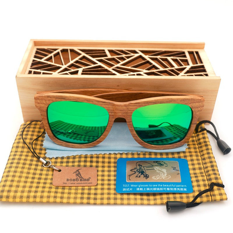 Pure Wood Sunglasses - Driftly,  - Driftly
