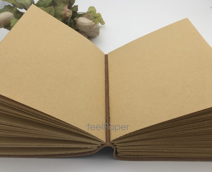 Handmade Vintage Leather Diary Notebook - Driftly,  - Driftly