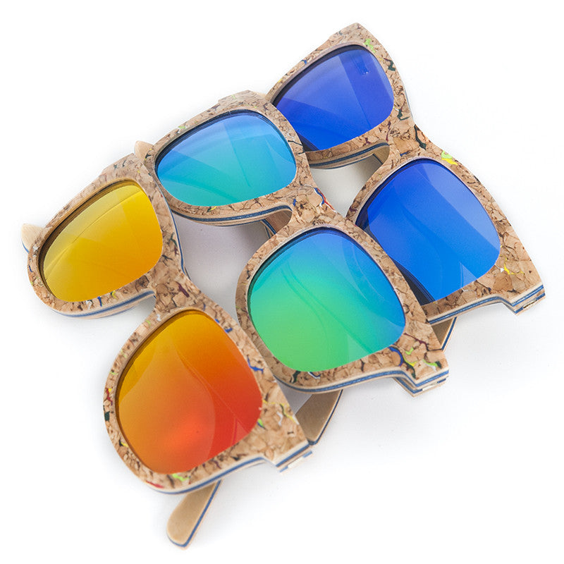 Corky Sunglasses with Wood - Driftly,  - Driftly