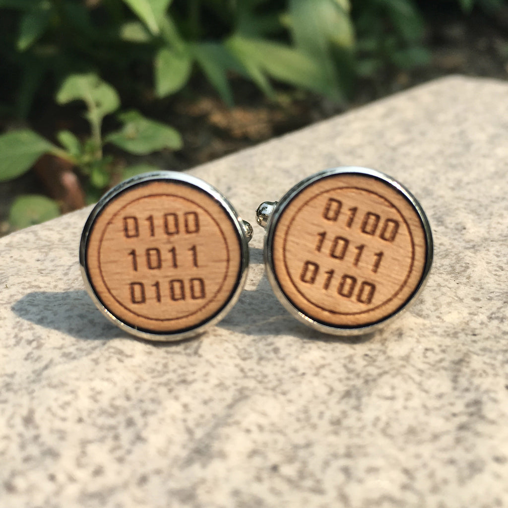 Coder Cuff Links - Driftly, Cufflink - Driftly