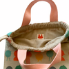 Chismosa on Beige Toy Bag
