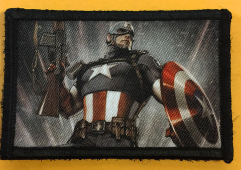 Captain America BAR / Shield Patch