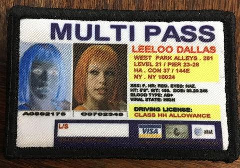 Fifth Element Multi Pass Patch