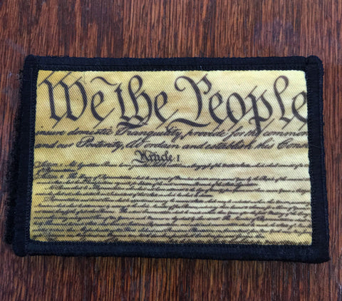 We the People Hook and Loop Patch